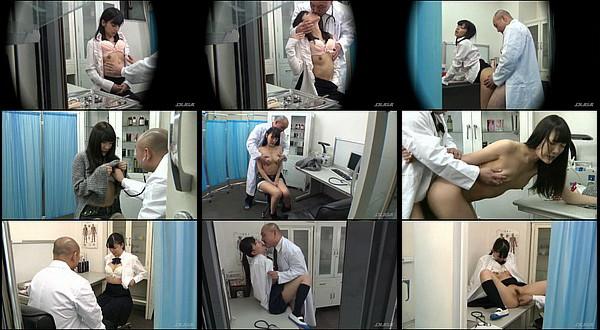 【ちっぱい】貧乳に悩む女性につけこみ女性ホルモン分泌を促すと謳ってSEX治療をおこなっている変態医師のエロ動画