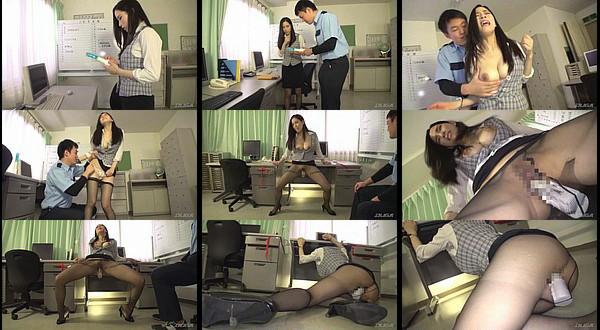 【凌辱動画】パンスト履いた美人を腰が抜けるまで固定バイブアクメで放置