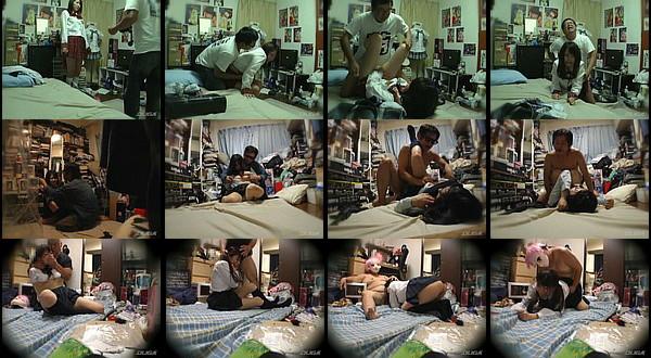 【凌辱動画】「JKマニアの監禁盗撮映像」とかいうヤバイタイトルの凌辱動画