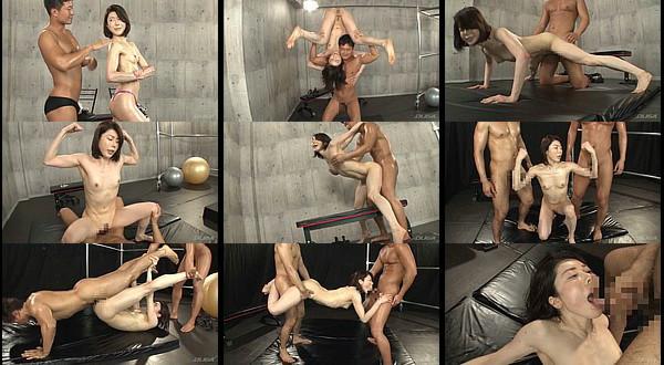 【エロ動画】母子ともに筋肉質な体のマッスル親子が肉体美を見せつけながらの近親相姦!
