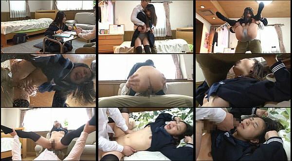 【凌辱動画】女子校生がオシッコ我慢中に無理やり巨根をねじ込まれピストンされながらお漏らし!何度もビクビク痙攣絶頂!