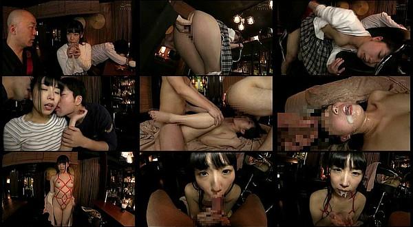 【エロ動画】AV女優「永井みひな」が酔いつぶれた彼氏の横で坊主と中出しセックス!痙攣アクメしまくる3Pや口内射精も!