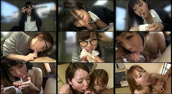 【エロ動画】可愛い女の子たちの生温かいクチマ○コにタップリ口内射精するフェラチオ動画集