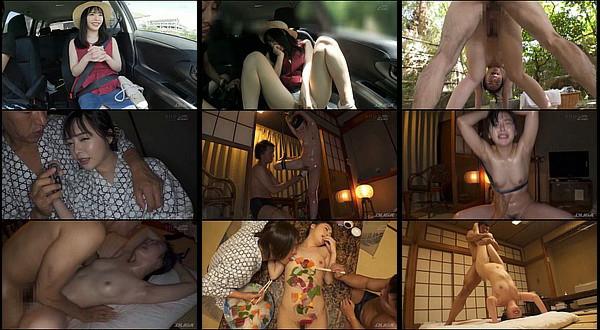 【エロ動画】超色白な美少女を温泉旅行に連れ出し痙攣アクメ&潮吹きするほどセックス調教!小倉由菜