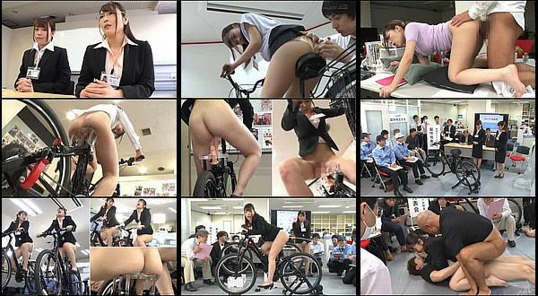 【エロ動画】SOD女子社員が2穴交互挿入アクメ自転車のプレゼンで浣腸液をお尻の穴から噴射しながらアクメ自転車をこいだり二穴セックスされる!桜庭洋子・星野優衣香