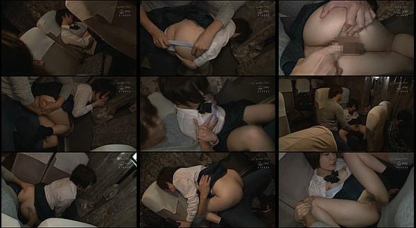 【凌辱動画】夜行バスで寝ていたショートカット美少女が痴漢男にイカされた上に生ハメを拒めずスローピストンから中出しされる!